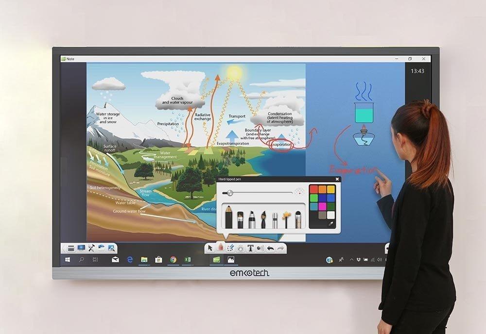 Interaktiivsed Lameekraanid ja Haridusetehnoloogiad