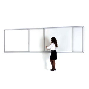 Rail System Writing Boards